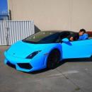Цветная пленка для авто - фото 2671