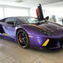 Цветная пленка для авто - фото 2758 oracal970ra gloss violet metallic.jpg
