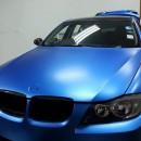 Цветная пленка для авто - фото 2760 oracal970ra matt azure blue metallic.jpg