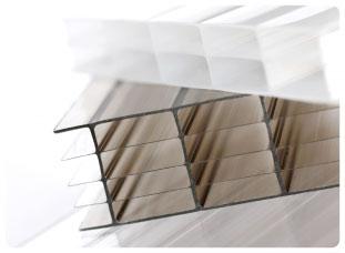 Сотовый поликарбонат Placarb® на сайте Материалы для строительства - Plastics