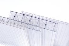 Сотовый поликарбонат MAKROLON® на сайте Материалы для строительства - Plastics