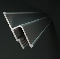 Алюминиевый профиль для натяжных потолков на сайте Материалы для строительства - Plastics