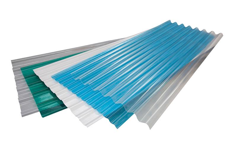 Профилированные листы стеклопластика
