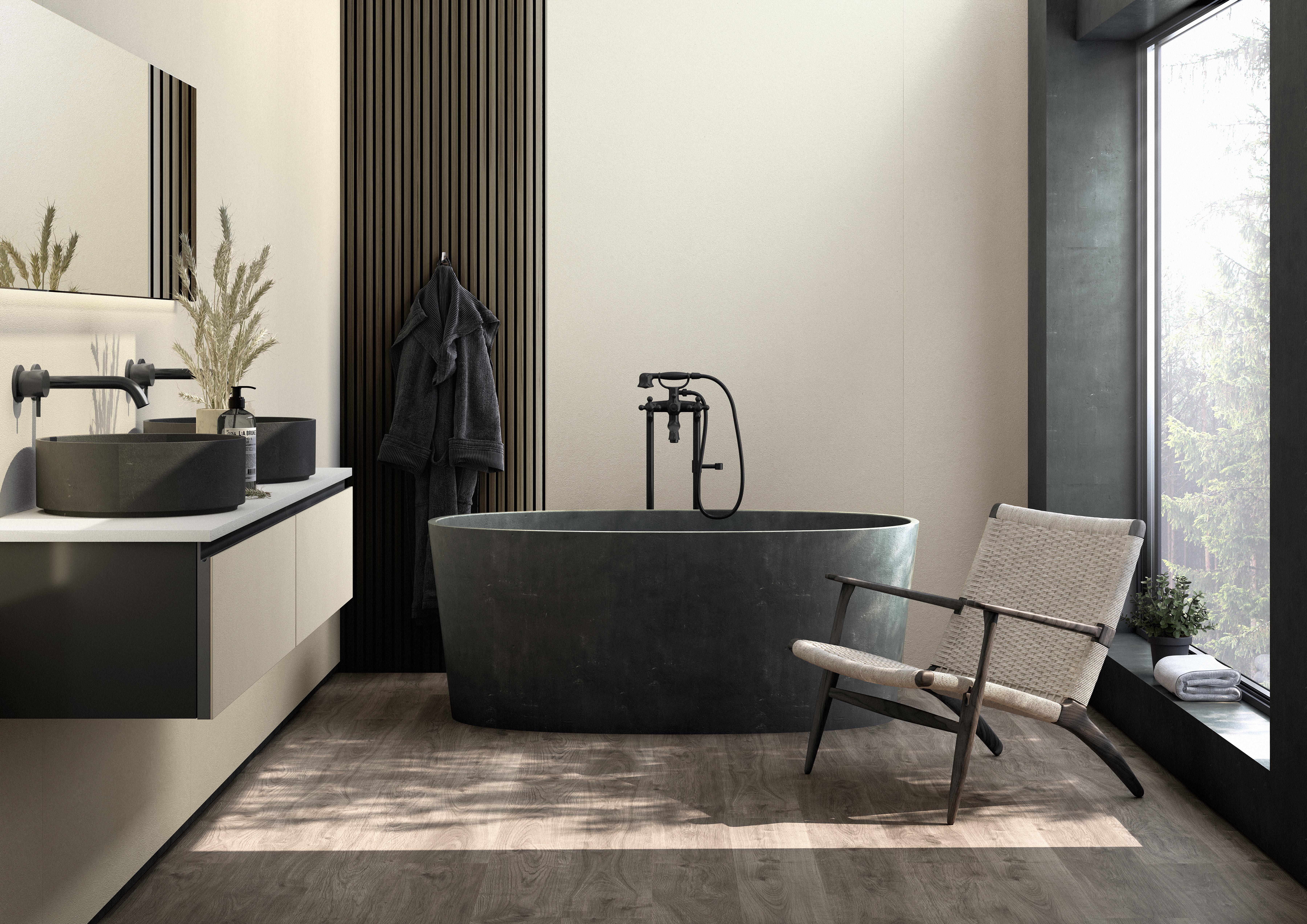 Dekton Slim Bathroom - Edora
