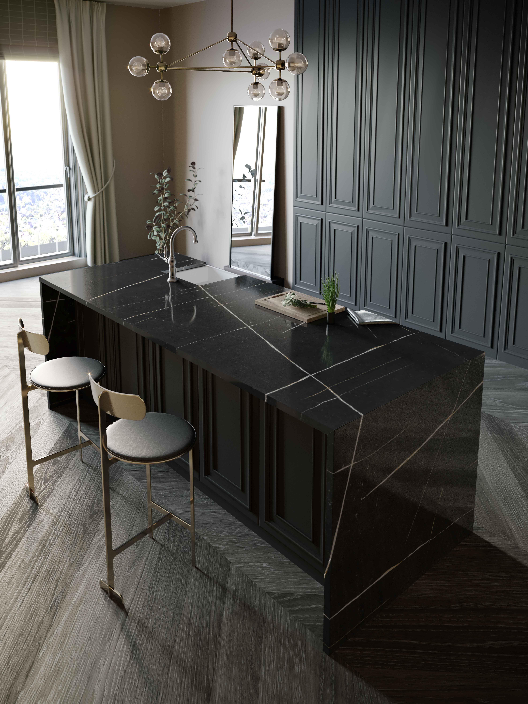 Silestone Kitchen - Eternal Noir-web