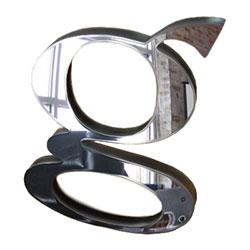 Ціни та наявність - Дзеркальний акрил з покриттям стійким до подряпин на сайте Материалы для рекламы - Plastics