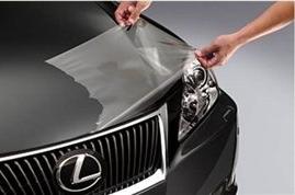 Рекомендации по оклейке автотранспорта - Антигравийная пленка на автомобиль Неxis Bodyfence на сайте Материалы для рекламы - Plastics