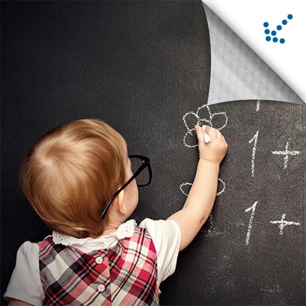 Технические характеристики - Меловая пленка Chalkboard black на сайте Материалы для рекламы - Plastics