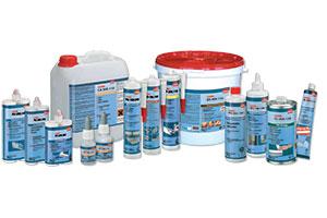 Клеї та очищувачі для пластиків на сайте Материалы для рекламы - Plastics