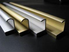 Профиль алюминиевый рамочный на сайте Материалы для строительства - Plastics